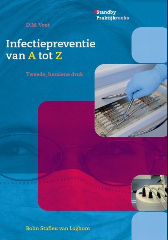 Infectiepreventie van A tot Z   Goede hygiëne en aandacht voor infectiepreventie zijn een vereiste voor elke tandartspraktijk. Tandartsassistentes dienen consequent alle maatregelen voor een optimale praktijkhygiëne te treffen. Daarvoor is het belangrijk dat zij beschikken over voldoende basiskennis over infectiebronnen besmettingsroutes en de effecten van een infectie op het lichaam in het algemeen. Infectiepreventie van A tot Z biedt deze kennis.  Het boek bestaat uit zes hoofdstukken…