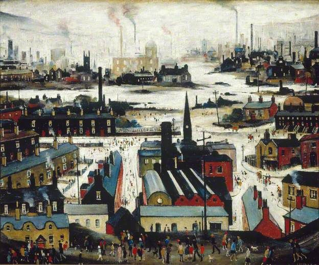 Industrial City by Laurence Stephen Lowry