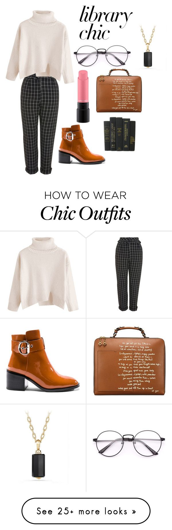"""chic look"" by lassh on Polyvore featuring Topshop, Tory Burch, Jeffrey Campbell, David Yurman and MAC Cosmetics"