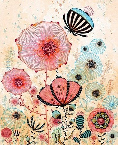 .James Of Arci, Colors Pallets, Little Girls, Yellena James, Flower Art, Illustration, Girls Room, Flower Prints, Art Prints