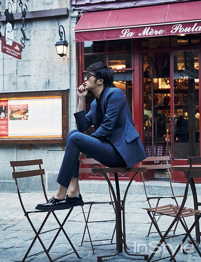 GUY CANDY: Jung Il Woo is dreamy in Normandy for InStyle pictorial
