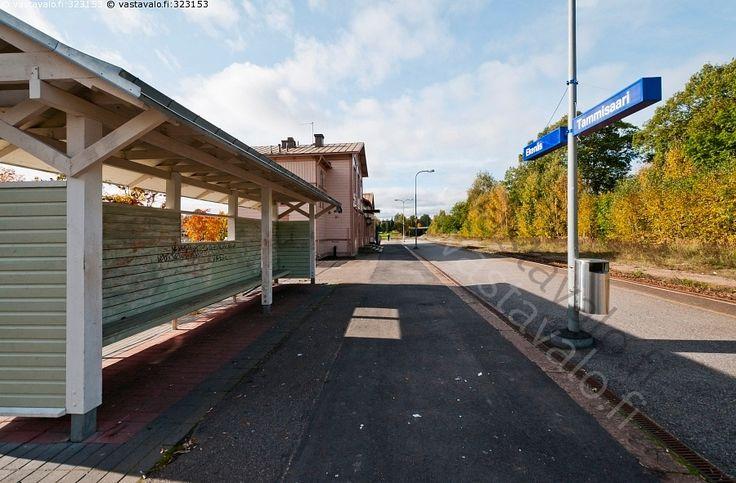 Tammisaaren rautatieaseman lauturi - Raasepori Tammisaari Ekenäs