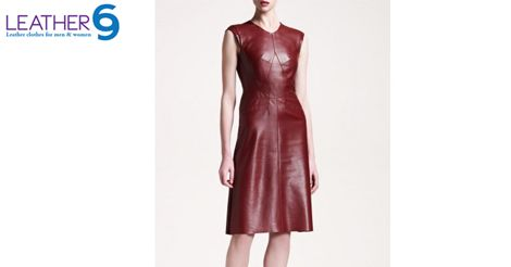 Find best range of Women's Dresses online @ best prices. http://bit.ly/1BgUNVq  #leather #women #fashion