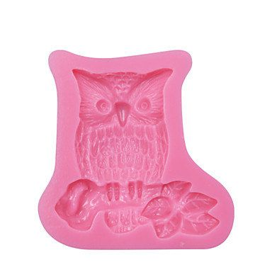 Owl Branch Design DIY Silicone 3D Cake Mold Fondant Decoration Mold Cake Cooking Tools Fondant Molds SM-072 M4741849 by RUSTIKOcakeDecoratio on Etsy