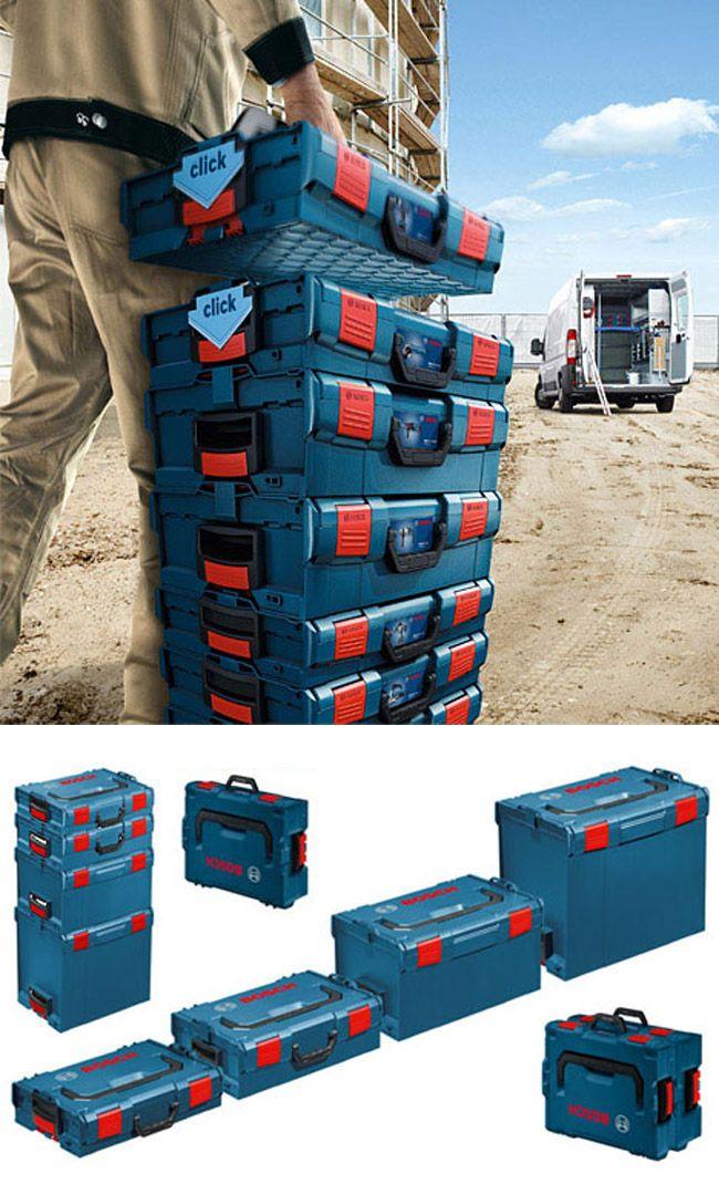 Bosch Modular Portable Tool Storage System Workspace