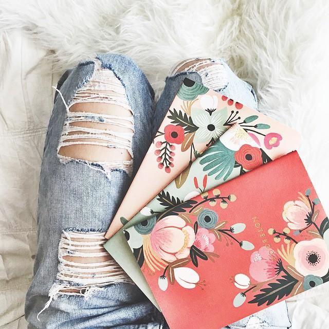 Sweet Briar Notebooks #Anthropologie #MyAnthroPhoto