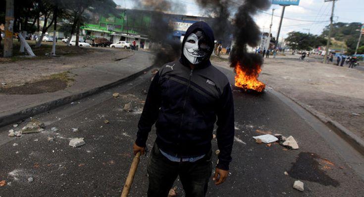 Honduras protesta contra la corrupción y el abuso