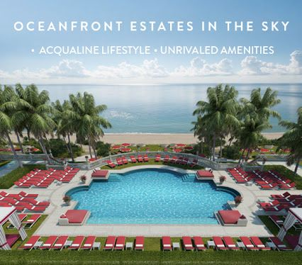 Estates at Acqualina Condo Sales 305-785-7997 www.yourmiamicondoexpert.com