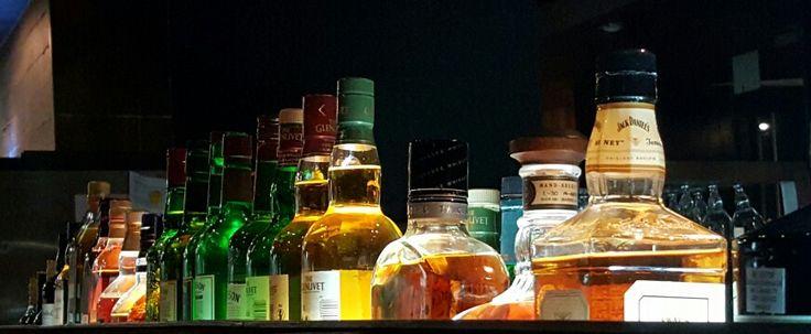 Botellas al trasluz
