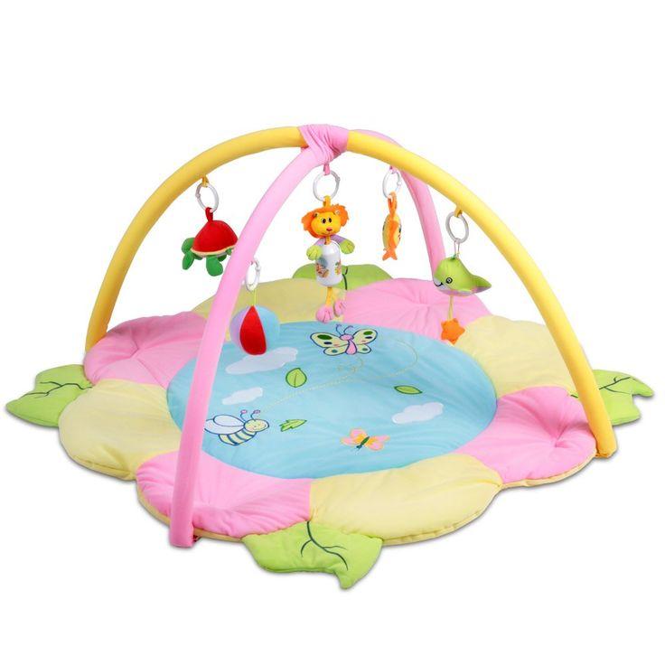 Baby Erlebnisdecke Krabbeldecke mit Spielbogen und Spielzeug Design und Größenwahl