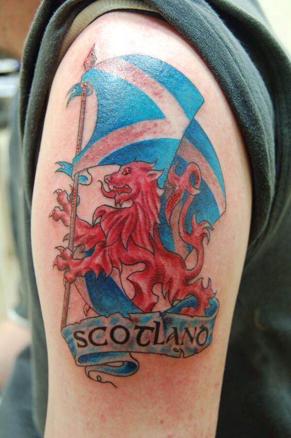 Scotland tattoo! Love love love this