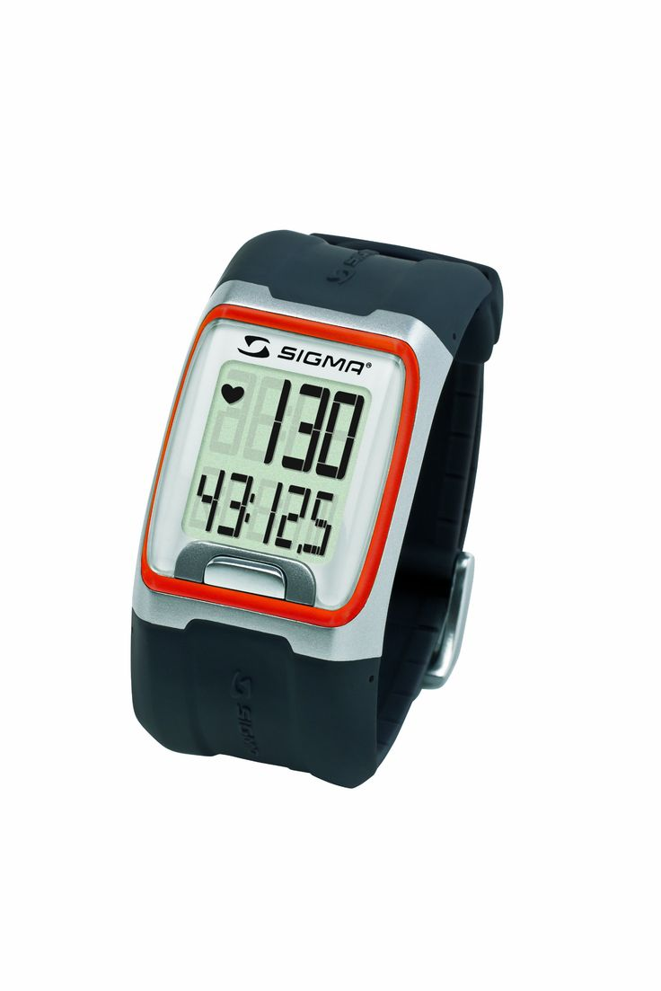 Sigma PC3.11 Heart Rate Monitor (Orange). ECG Accurate heart rate. Stopwatch. Clock. waterproof.