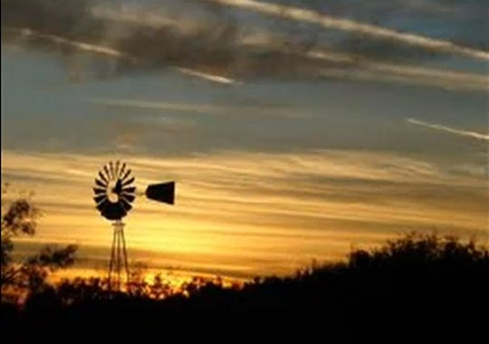 What a beautiful Texas sunset!