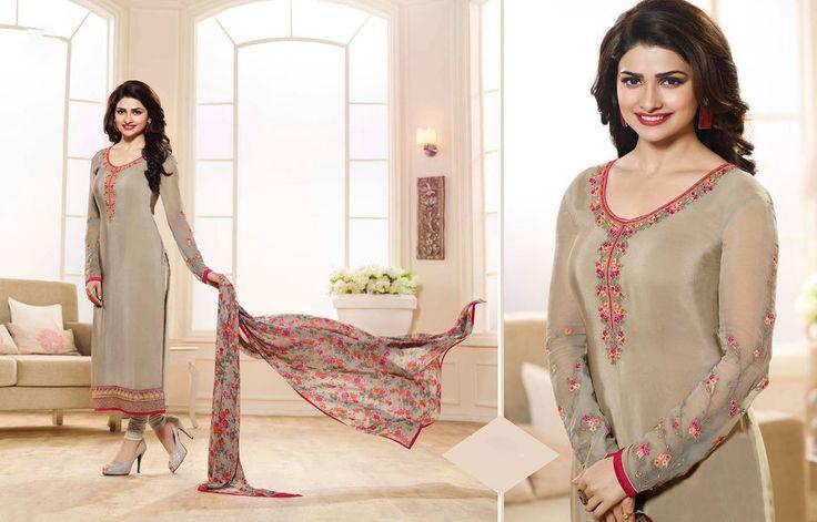 Bollywood Kameez Pakistani Anarkali Ethnic Indian Salwar Suit Designer Dress…
