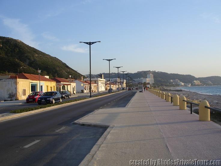 The west coast of Rhodes Island - Ixia - Kritika