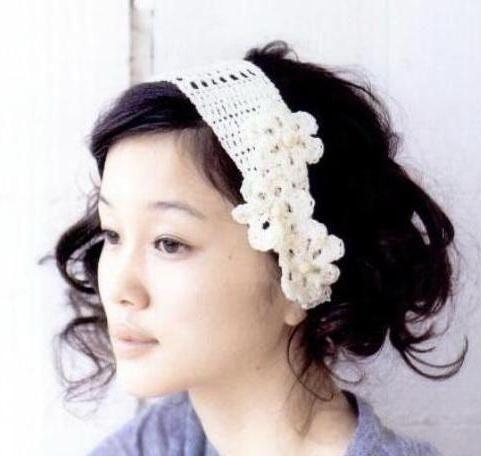 265 best patterns for headbands images on pinterest free knitting stylish easy crochet crochet headbands with flowers pattern free mightylinksfo Choice Image
