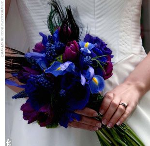 iris wedding bouquet - Google Search