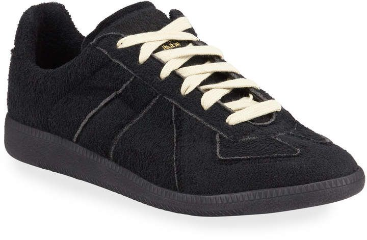 Maison Margiela Mens Replica Hotel Terry Low Top Sneakers