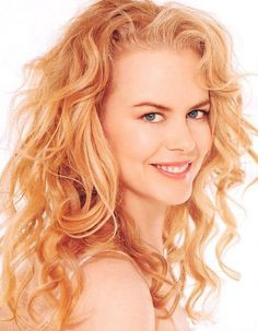 natural looking tousled long voluminous curly strawberry blonde hair - Google Search