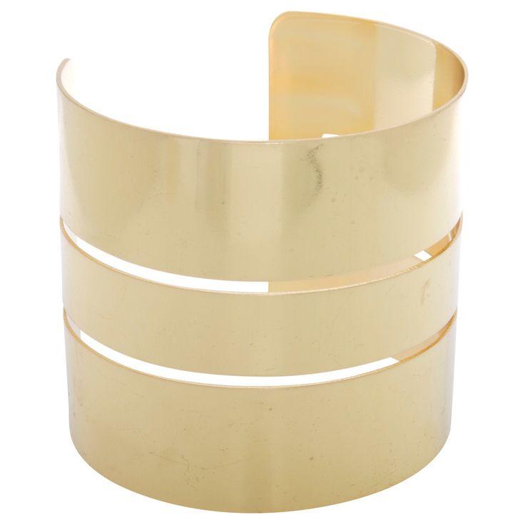Nexte Jewelry Modern Goldtone Fashion Bangle Bracelet