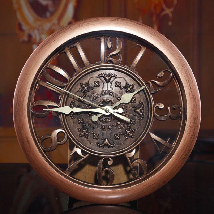 Pas cher Home Decor 3D horloge murale décorative horloge murale à Quartz salon horloge horloge muette numérique montre Vintage cuisine créative rétro, Acheter  Horloges murales de qualité directement des fournisseurs de Chine:  Horloge murale, horloge, en regardant le horloge, en regardant le horloge, horloge, grande horloge murale, saat, cloch