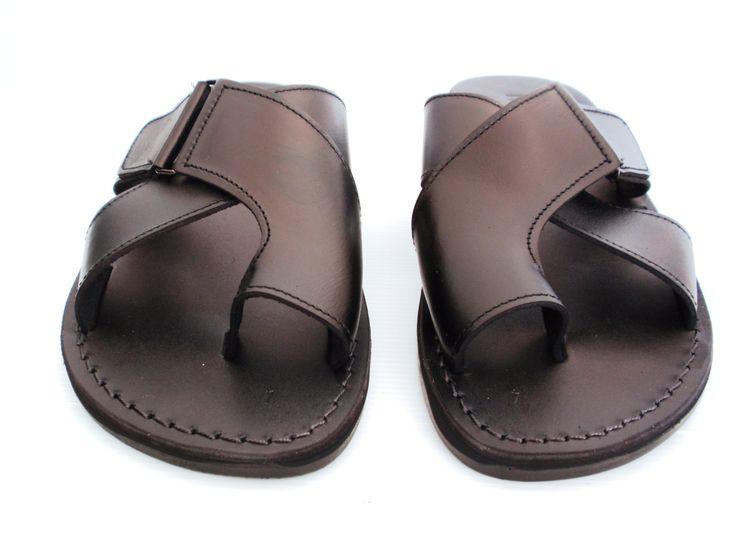 Leather Sandals Brooklyn Men S Shoes Jerum Stry Flip Flops Flats Slides Slippers Biblical