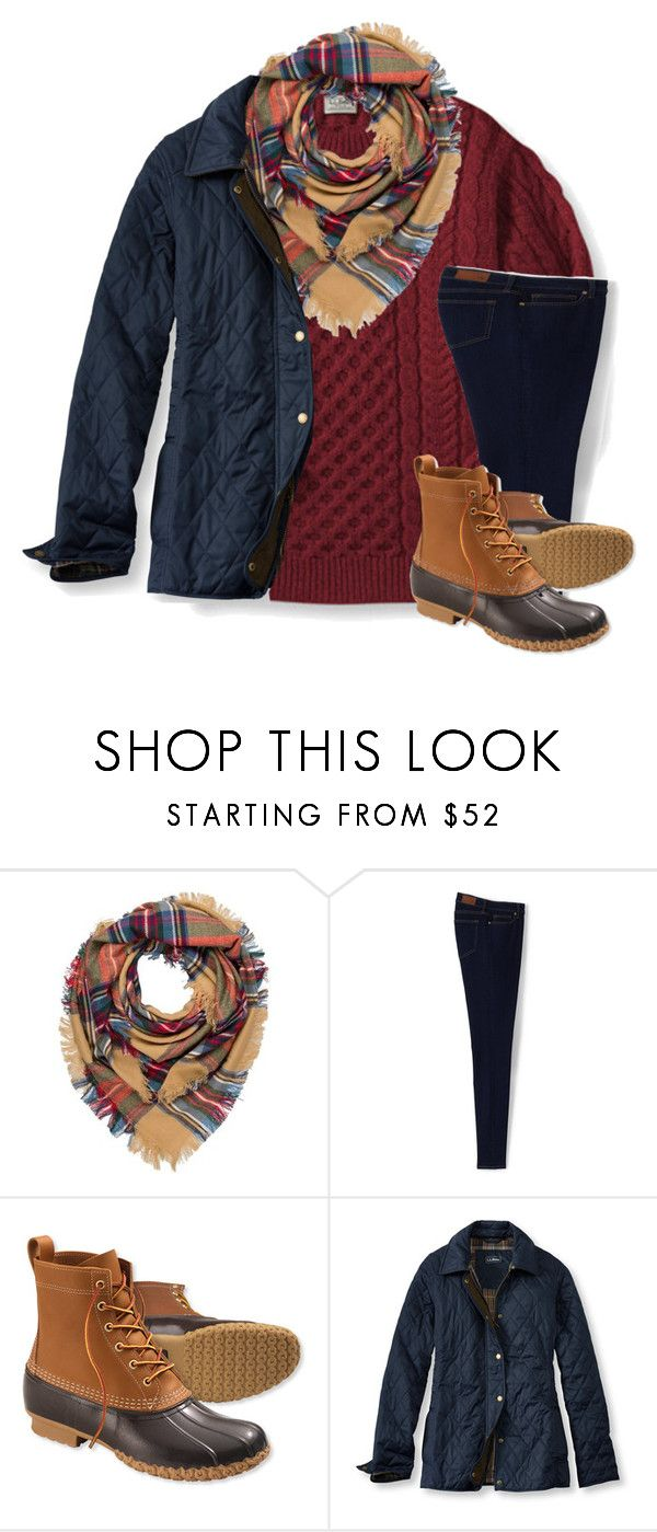 """Retreat this weekend!"" by sydneymellark ❤ liked on Polyvore featuring Panda, Codello, Lands' End, L.L.Bean and winterwear"