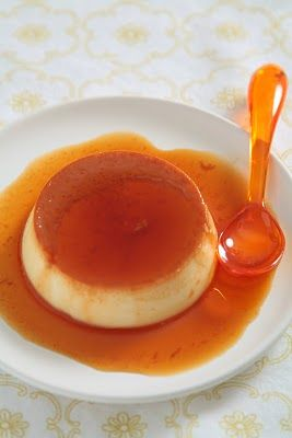 orange flan | Gluten Free Food | Pinterest