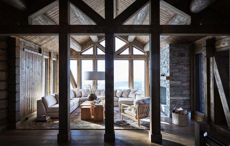 """1,228 likerklikk, 3 kommentarer – Slettvoll (@slettvoll_no) på Instagram: """"Denne fantastiske hytta fra @laftekompaniet har en imponerende konstruksjon og materialbruk.…"""""""