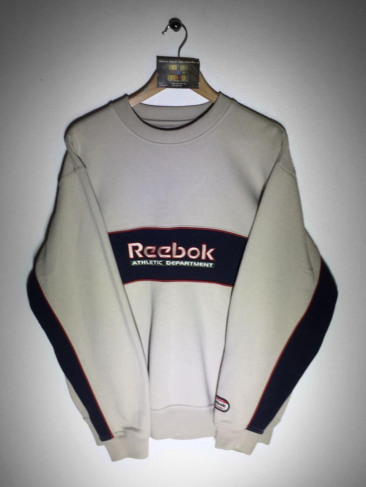 reebok jumper. reebok sweatshirt size small (but fits oversized) £32 website➡ www. jumper /