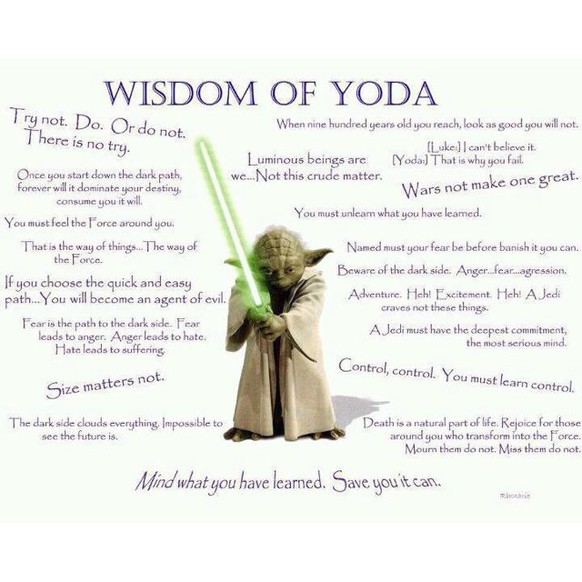 Yoda Quote Try Not: 25 Best Yoda Quotes Images On Pinterest