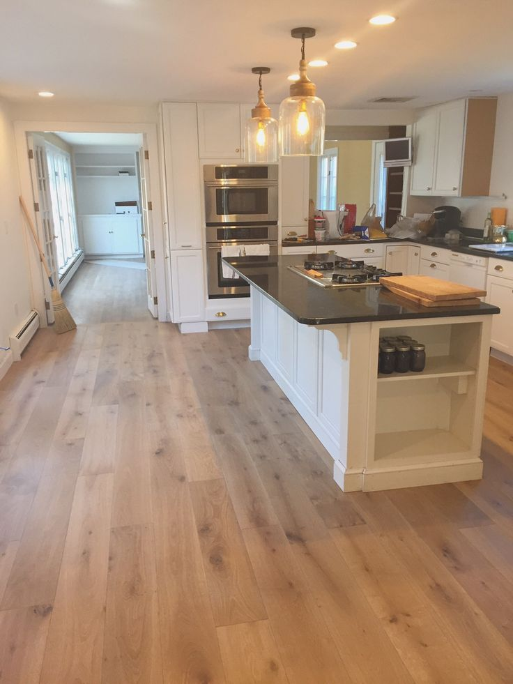 The Search For The Perfect Engineered Oak Wide Plank Hardwoods For Our  Kitchen! Love These