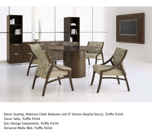 national office furniture clever table with davari side
