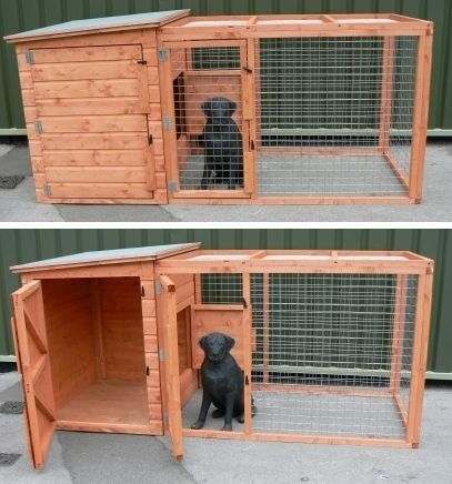 the kimberly dog kennel and run - Dog Kennel Design Ideas