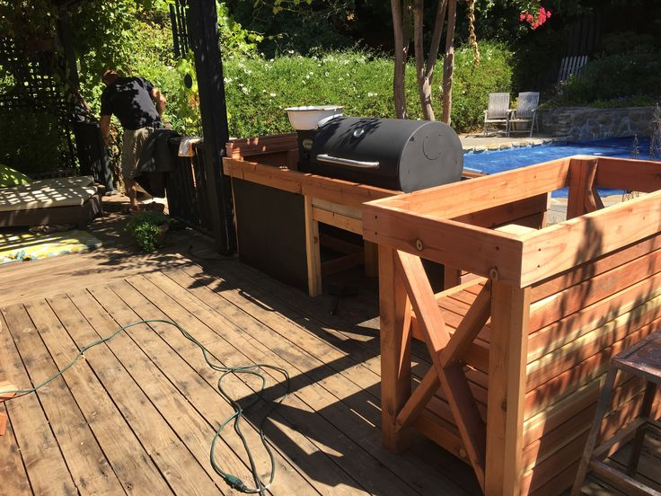 158 best images about outdoor kitchen on pinterest built for How much does it cost to build an outdoor kitchen