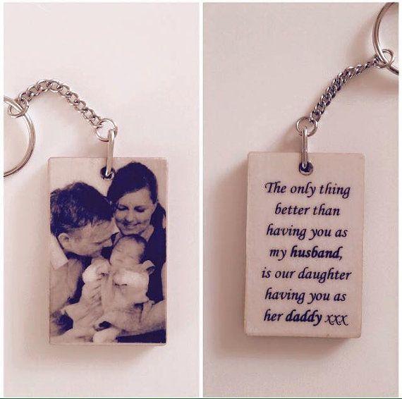 Photo keyring Quote on keyring gift mum gift by OhWoodenItBeNice