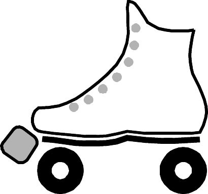 roller skate coloring pages - Google Search