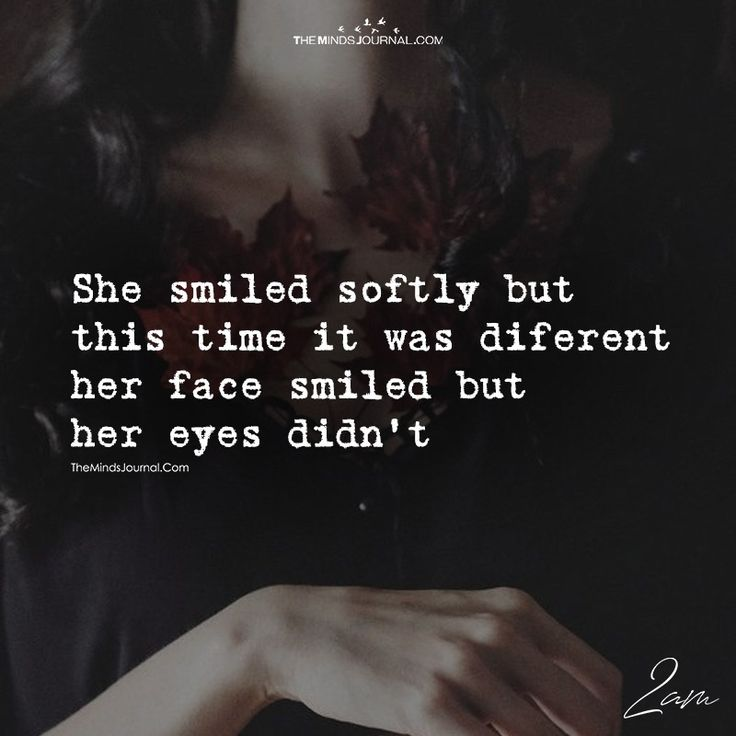 She Smiled Softly But This Time It Was Different - https://themindsjournal.com/smiled-softly-time-different/