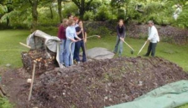 CZ - založení kompostu