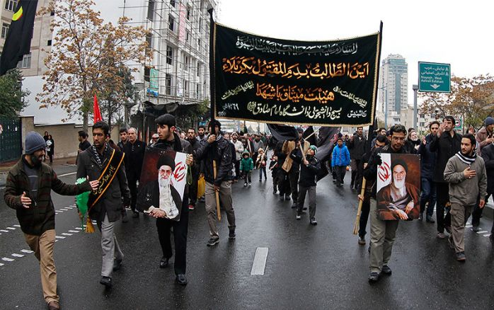Ashura day in Iran