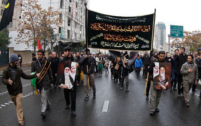 Ashura day in Iran