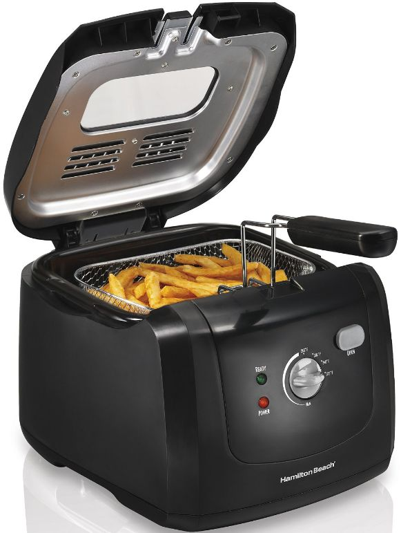 Hamilton Beach Deep Fryer with Cool Touch Review