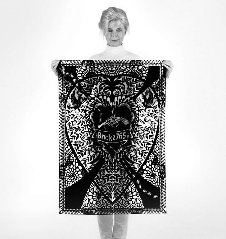 paper tapestries | Karen Bit Vejle