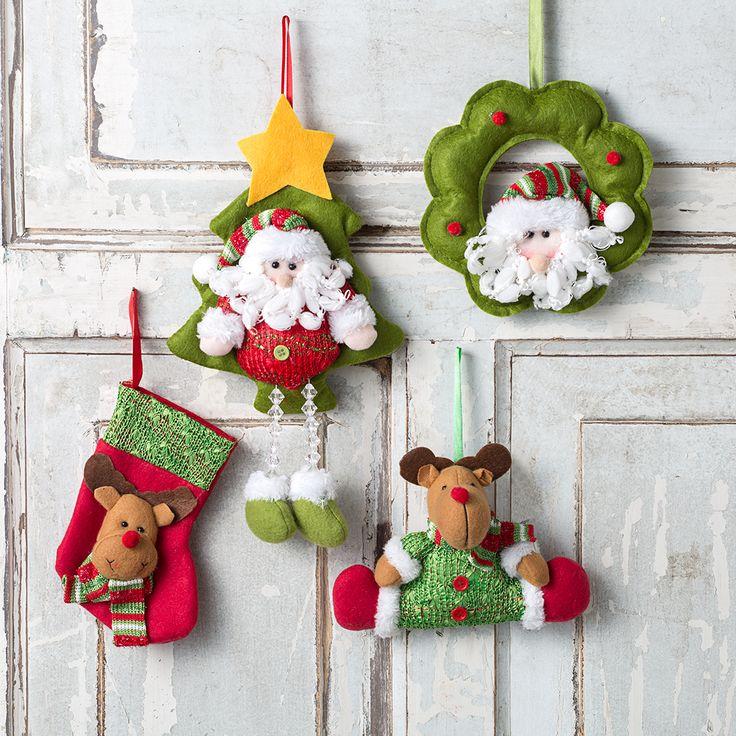 Botitas para colocar regalitos y coronas muy tiernas adornarán tu casa esta Navidad. #LaNavidadDeLasCasas #easytienda #tiendaeasy #Navidad2016 #Easy