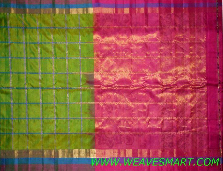Gadwal Silk Saree - GDW00256