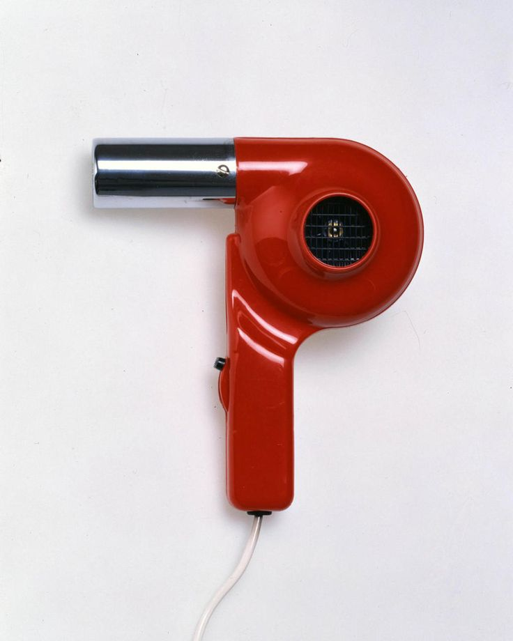 Richard Sapper - Hair Dryer - 1959 I had one like this, but I was born much later than 59