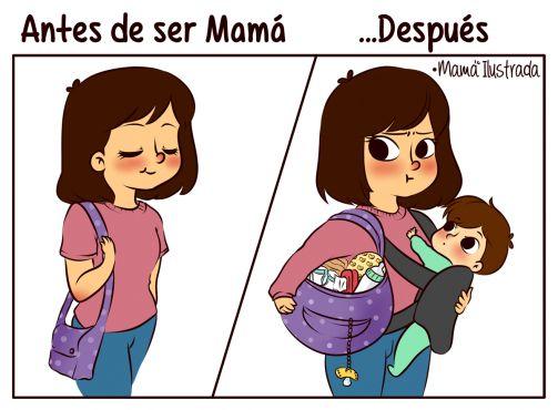 17 ilustraciones sobre la realidad de ser mamá | Blog de BabyCenter