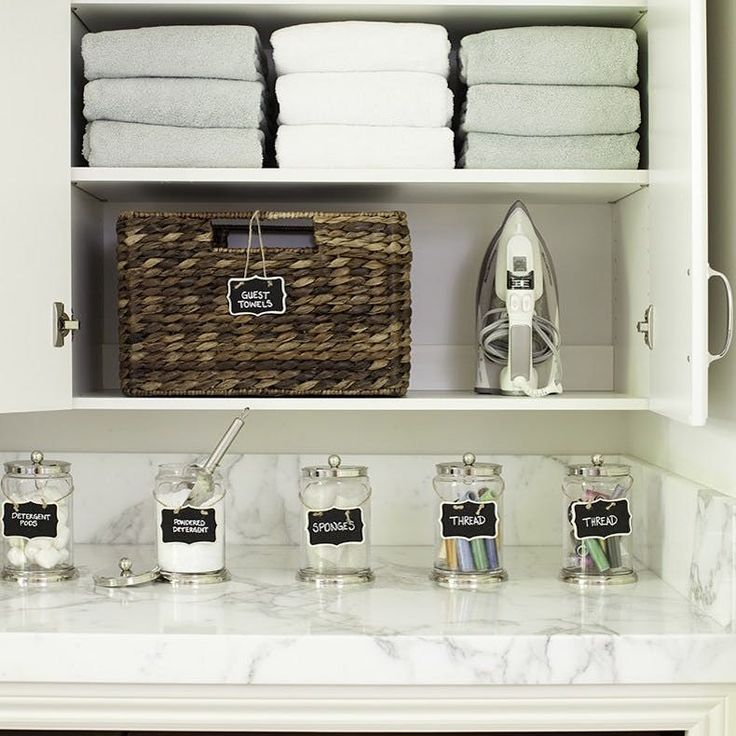 18 Awesome Storage Ideas for Small Laundry Spaces