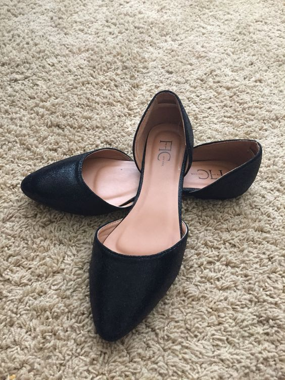 FFC NEW YORK Bale D'Orsay Flats from Stitch Fix.   https://www.stitchfix.com/referral/4292370