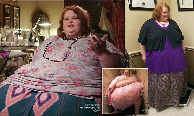 Morbidly obese woman who weighed 650lb loses weight